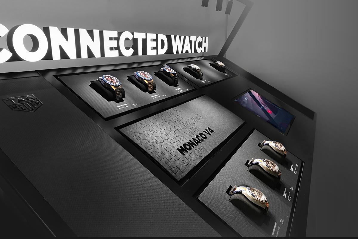 Display connecté développé par WIPDesign