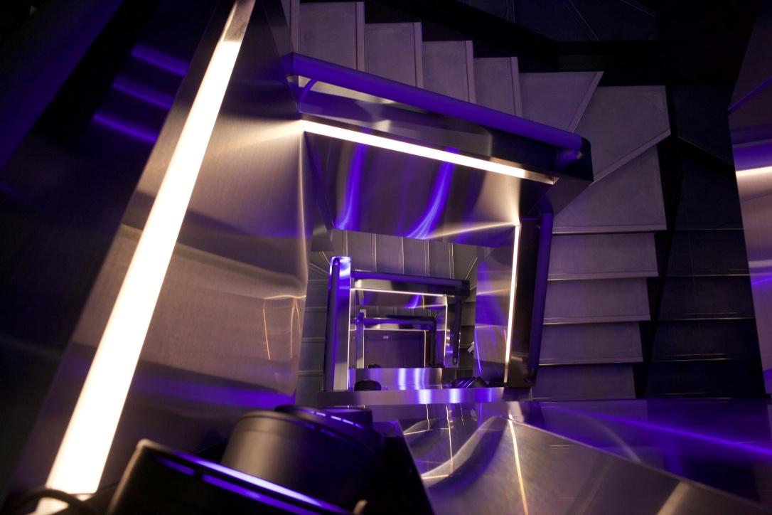 Détails de l'escalier